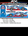 2017 Devin Moran #9 1/64 ADC Dirt Late Model Diecast Car