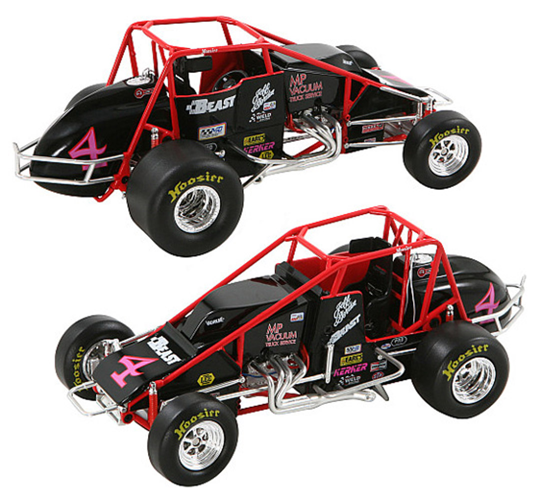 2008 Jeff Gordon 4# 1/24 USAC  Sprint Car