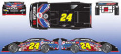 2008 Jeff Gordon #24 Nascar 09 Eldora 1/64 Dirt Late Model