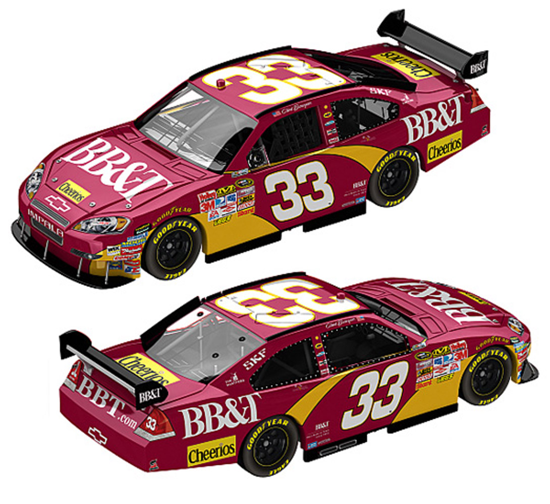 Bbt Stock Quote: 2010 Clint Bowyer BB&T 1/24 Diecast Car