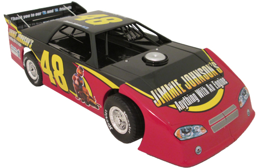 2012 Jimmie Johnson #48 Eldora Speedway Dirt Latemodel 1/24 Car