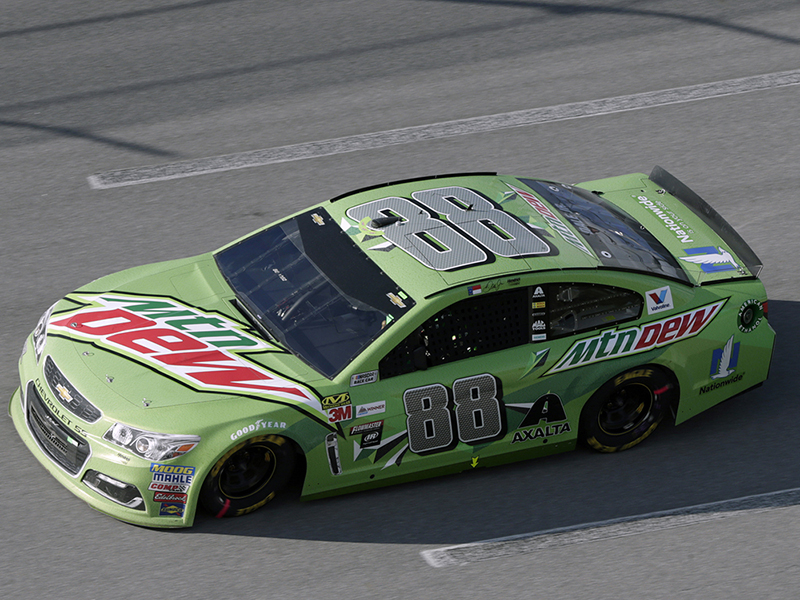 2017 Dale Earnhardt Jr #88 Mountain Dew Ride With Dale TALLADEGA RACED VERSION  1:24 Diecast Car.