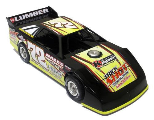 ADC RED SERIES 2017 JASON COVERT Dirt Late Model 1/64 Diecast Car.