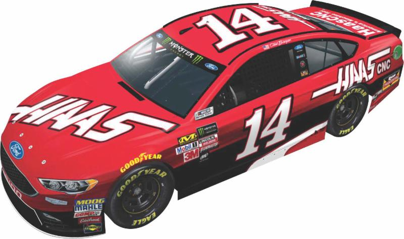 2017 Clint Bowyer #14 Haas 1:64 Diecast Car
