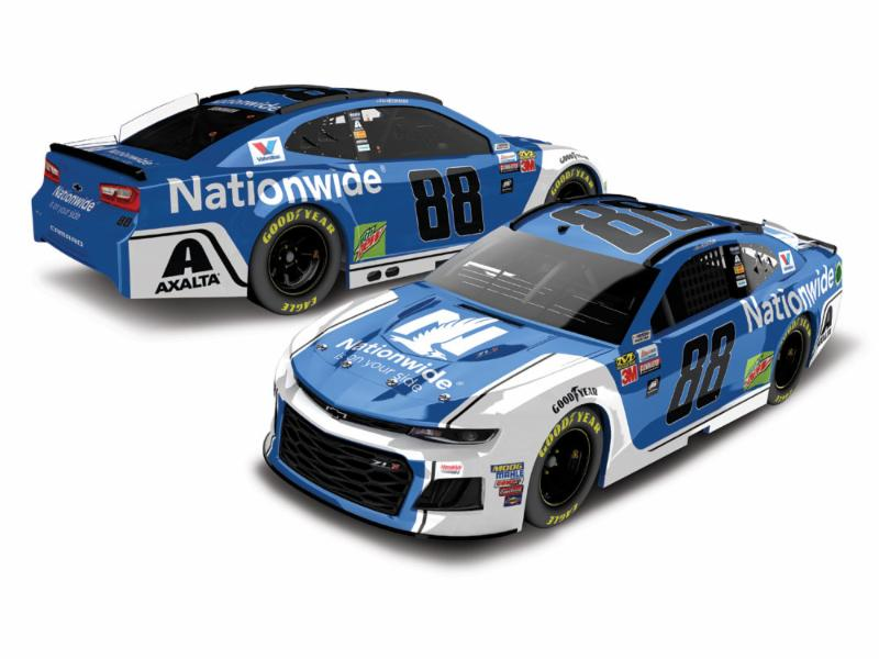 2018 Alex Bowman #88 Nationwide Ins. 1:64 Diecast Car.