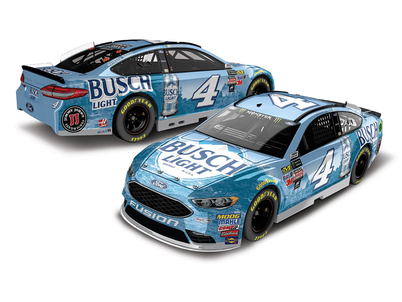 2018 Kevin Harvick #4 Busch Light Beer 1:24 HO Diecast Car