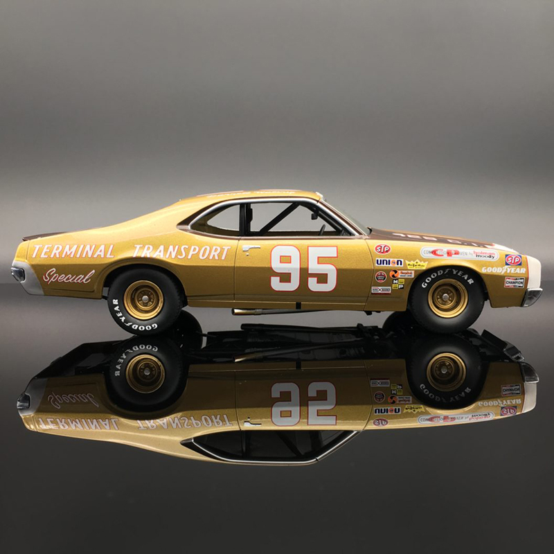 Darrell Waltrip #95 Terminal Transport 1971 Mercury Cyclone 1:24  Diecast Car.