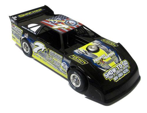 ADC RED SERIES 2017 STEVE THORSTEN Dirt Late Model 1/64 Diecast Car