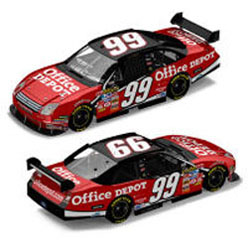 2007  Carl Edwards Office Depot Car Of Tomorrow 1/24