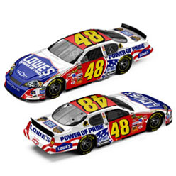 2007 Jimmie Johnson American Hero Diecast Car