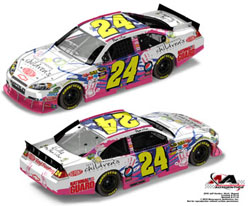 2010 Jeff Gordon #24 Children Foundation 1/24 Action Diecast Car