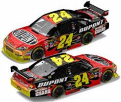2010 Jeff Gordon #24 DuPont Chevy 1/24  Diecast Car