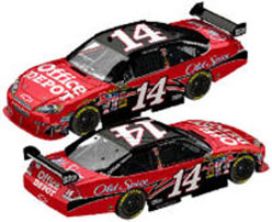 2010 Tony Stewart  #14 Office Depot 1/24  Car