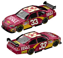 2010 Clint Bowyer BB&T  1/24   Diecast Car
