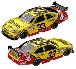 2010 Clint Bowyer #33 Cheerios Chevy Diecast 1/24 Car