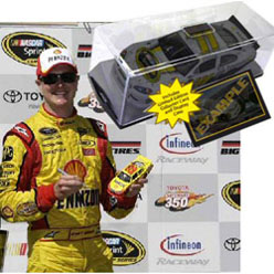 2011 Kurt Busch #22 Shell Infineon Win Raced 1/24 Diecast Car
