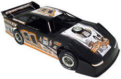 2012 Tyler Reddick  #11  1/24 Dirt Late Model Diecast Car