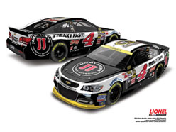 2014 Kevin Harvick #4 Jimmy Johns Sprint Cup Champ 1:24 Diecast Car