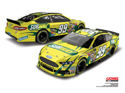 2014 Carl Edwards #99 Subway 1:24 Diecast Car