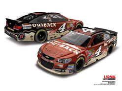 2014 Kevin Harvick #4 Outback 1:24 Diecast Car