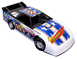 2015 JASON BODENHAMER  #2B 1/24 Dirt Late Model Diecast Car