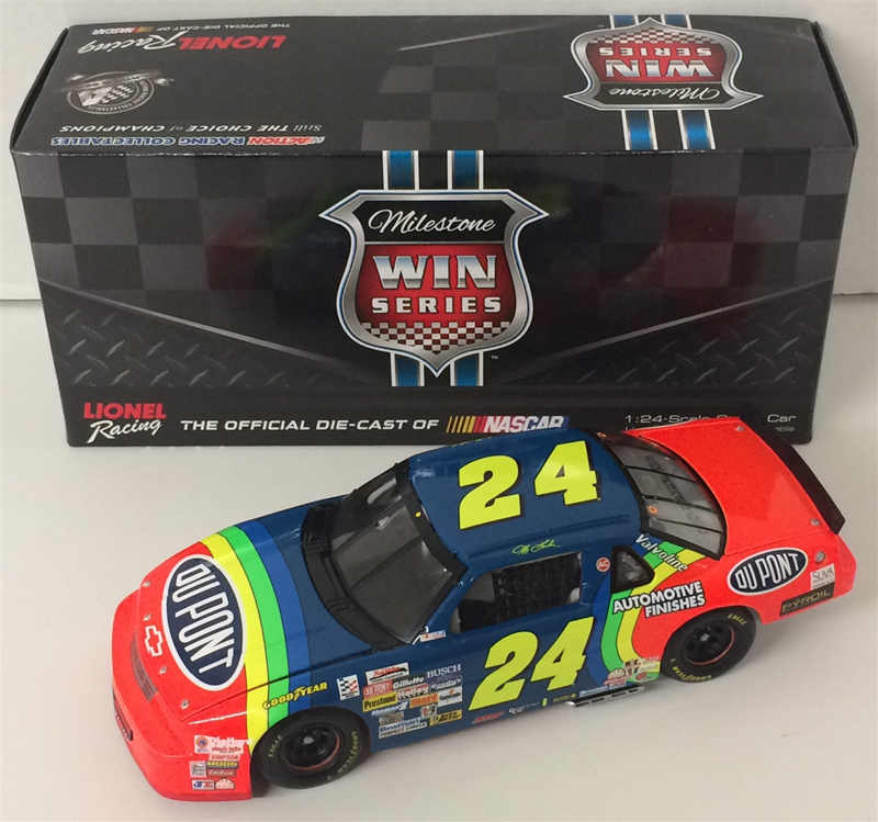 2015 Jeff Gordon #24 Dupont 1993 First Gatorade Duel Win 1:24 Diecast Car