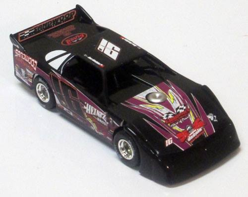 ADC Red Series 2016 Ben Watkins 1/24 Late Model Diecast Car