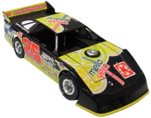 ADC Red Series 2015 Matt Long, NC 1/64 Late Model Diecast Car