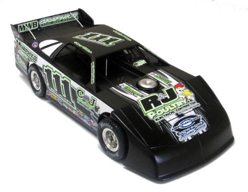 ADC Red Series 2016 Max Blair 1/64 Late Model Diecast Car