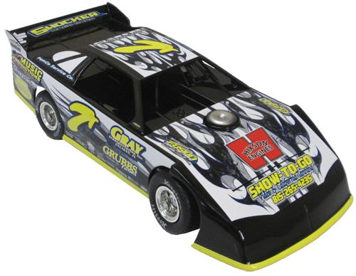 ADC Red Series 2015 Wayne Carbo -PA 1/64 Late Model Diecast Car