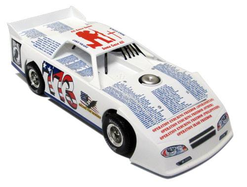 ADC Red Series 2016 Mike Evock-PA 1/24 Late Model Diecast Car