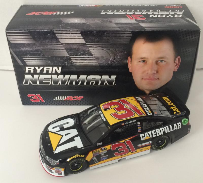 2016 Ryan Newman #31  Caterpillar 1:24 Diecast Car
