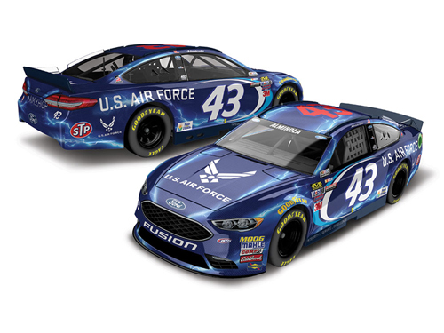 2017 Aric Almirola #43 Air Force 1:64 Diecast Car