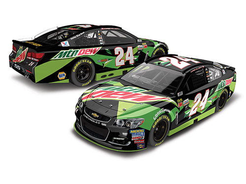 2017 Chase Elliott #24 Mountain Dew All-Star HOTO 1:24 Diecast Car