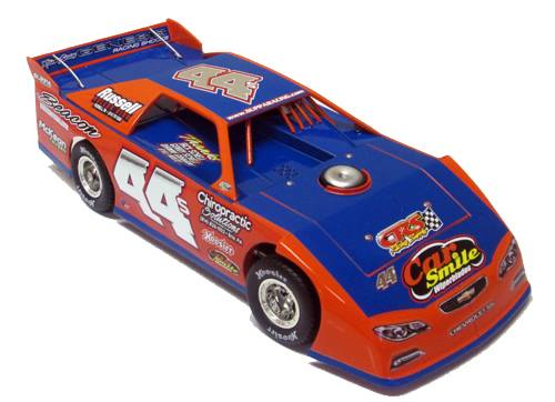 ADC RED SERIES 2017 DAVE HESS Dirt Late Model 1/24 Diecast Car