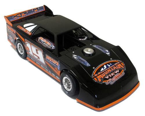 ADC RED SERIES 2017 JASON COVERT Dirt Late Model 1/24 Diecast Car.