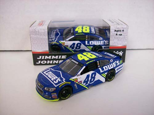2017 Jimmie Johnson #48 Lowes 1:64 Diecast Car