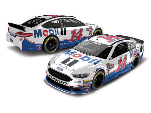 2017 Clint Bowyer #14 Mobil 1 1:64 Diecast Car