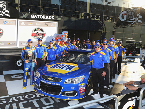 2017 Chase Elliott #24 Napa Pole Winner 1:24 Diecast Car