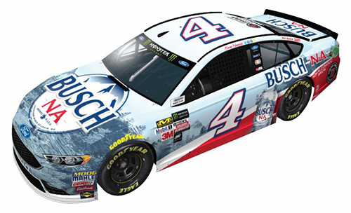 2017 Kevin Harvick #4 Busch Beer NA 1:24 Diecast Car