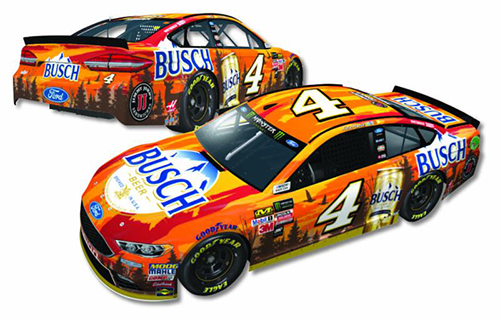 2017 Kevin Harvick #4 Busch Outdoors 1:24 Diecast Car
