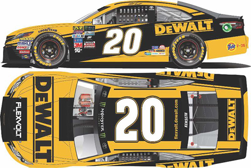 2017 Matt Kenseth #20 Dewalt 1:24 Diecast Car