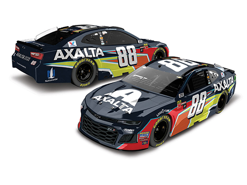 2018 Alex Bowman #88 Axalta RCCA Elite 1:24 Diecast Car.