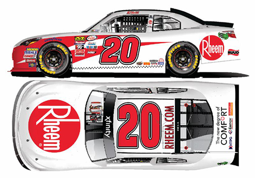 2018 Christopher Bell #20 Rheem 1:24 HO Diecast Car