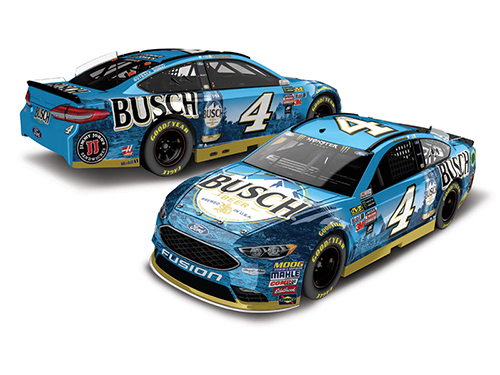 2018 Kevin Harvick #4 Busch Beer 1:24 HO Color Chrome Diecast Car.