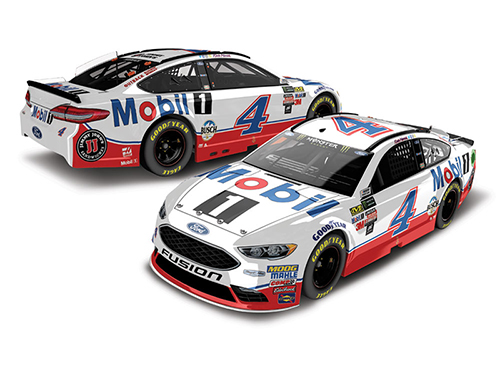 2018 Kevin Harvick #4 Mobil 1 1:24 Color Chrome Diecast Car