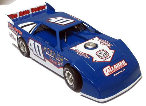 ADC Red Series 2018 Joel Callahan 1/24 Late Model Diecast Car