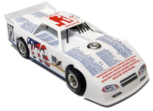 ADC Red Series 2018 Mike Evock-VA 1/24 Late Model Diecast Car
