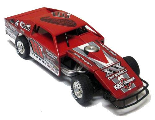ADC RED SERIES TRENT YOUNG MODIFIED 1/64 Diecast Car