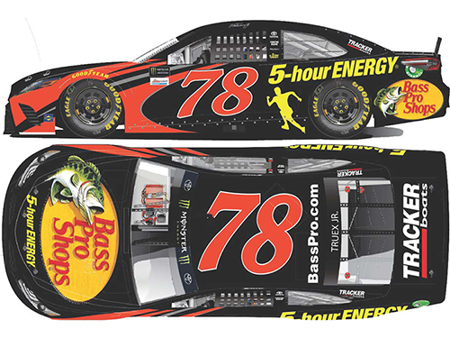 2018 Martin Truex Jr. #78 Bass Pro Shops / 5-Hour Energy RCCA Elite 1:24 Diecast Car